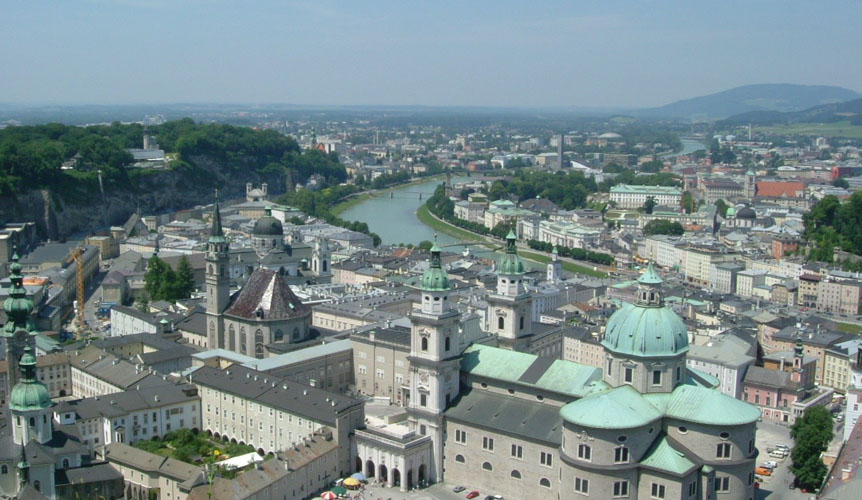 Salzburg, a city built on salt
